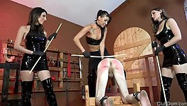 Shredding Another Slaves Ass (Caning)