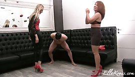 Ball Kicking Game with the Gorgeous Mistress Kate!(WMV Full Hd 1080p Format)